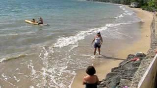the beach of hauula