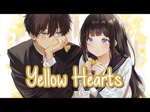 nightcore---yellow-hearts-(switching-vocals)-||-lyrics