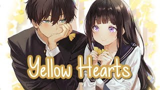 Nightcore - Yellow Hearts (Switching Vocals) || Lyrics
