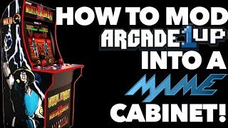 How To Mod Arcade1Up Into a MAME Cabinet! | Detailed Instructions!