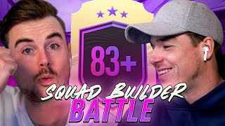 SQUAD BUILDER BATTLE | 83+ UPGRADE SBC