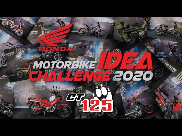 โอ้โห!  แต่งรถ Honda CT125 Idea Challenge 2020 หลายแนวสุดๆ