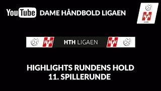 Highlights Rundens Hold Hth Ligaen 11. Spillerunde #dameligaen
