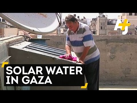 In Gaza, One Man Wields Solar Power To Purify Water