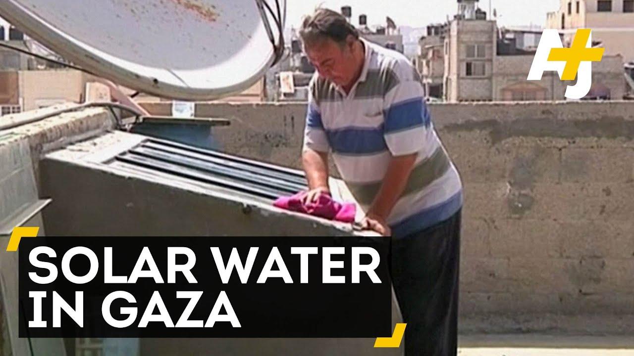 In Gaza, One Man Wields Solar Power To Purify Water