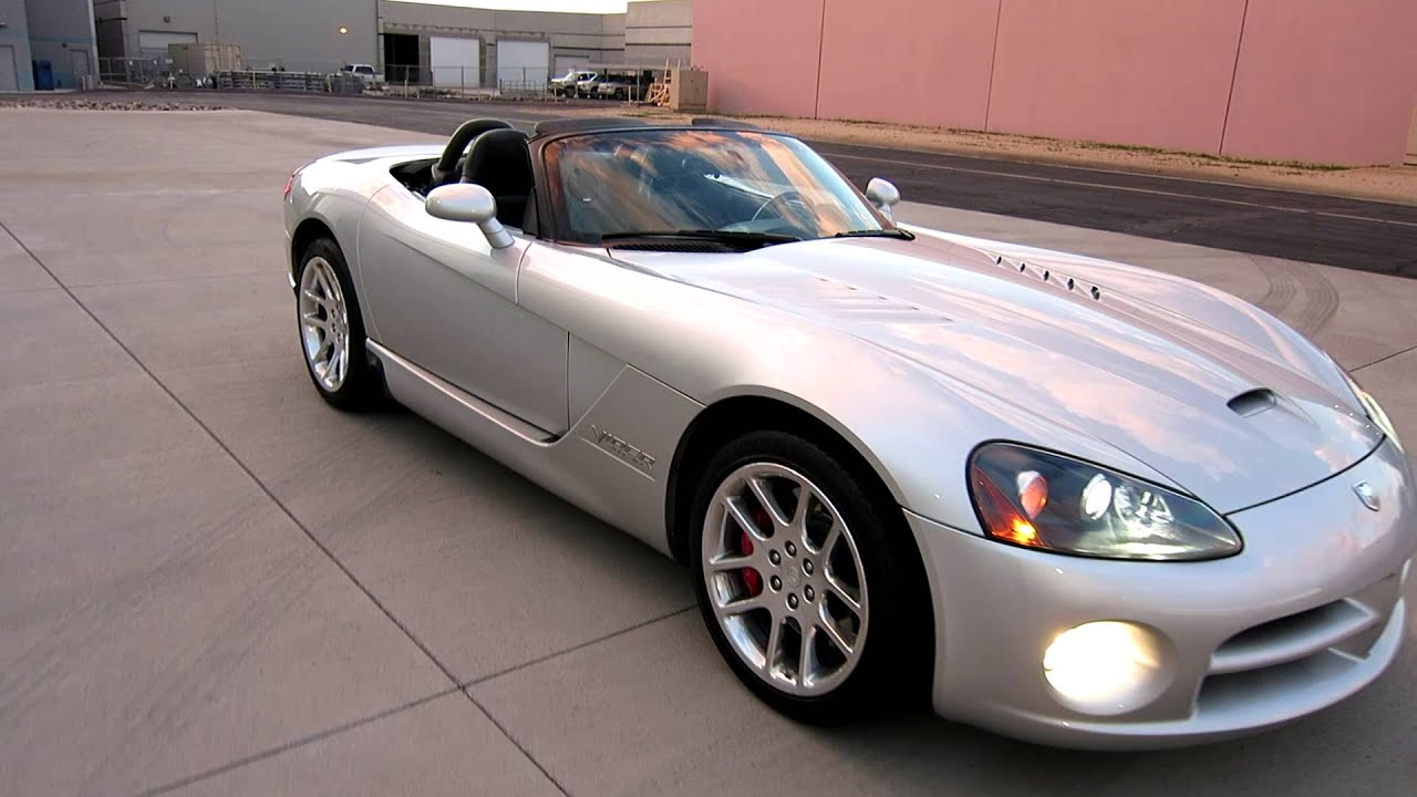 2004 dodge viper srt 10 convertible for sale in scottsdale az call joey 480 205 5880 youtube. Black Bedroom Furniture Sets. Home Design Ideas