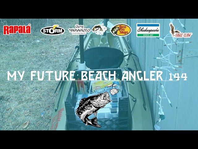 My Fishing Kayak! (Future Beach Angler 144)