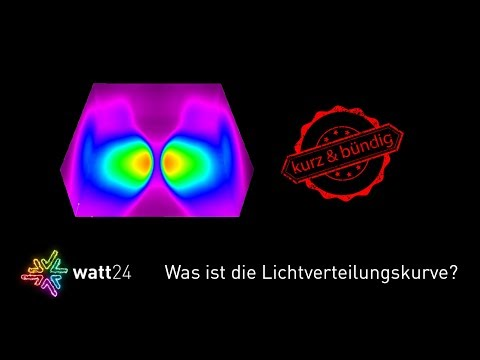 Was ist die Lichtverteilungskurve (LVK)? watt24 ? Wissensvideo mit dem LED-Lichtband Wasco Redox