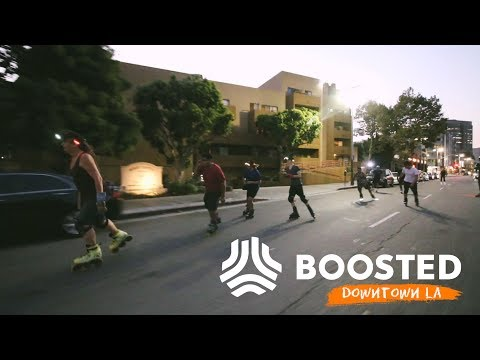 Downtown LA Boosted Board Group Ride - Tuesday Night Skate!