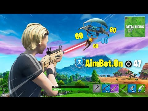 10 Minutes 36 Seconds Of Fortnite Aimbot...