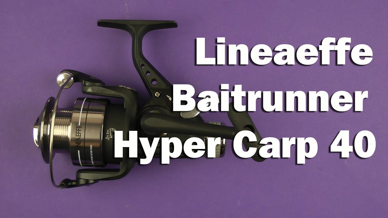 Lineaeffe Hyper Carp Freilaufrolle  40
