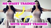 3afcde59b1 PLEO ปลอกรัดเอว Latex ธรรมชาติ Waist Training - YouTube