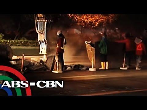 Bandila: Road reblocking, repairs resume