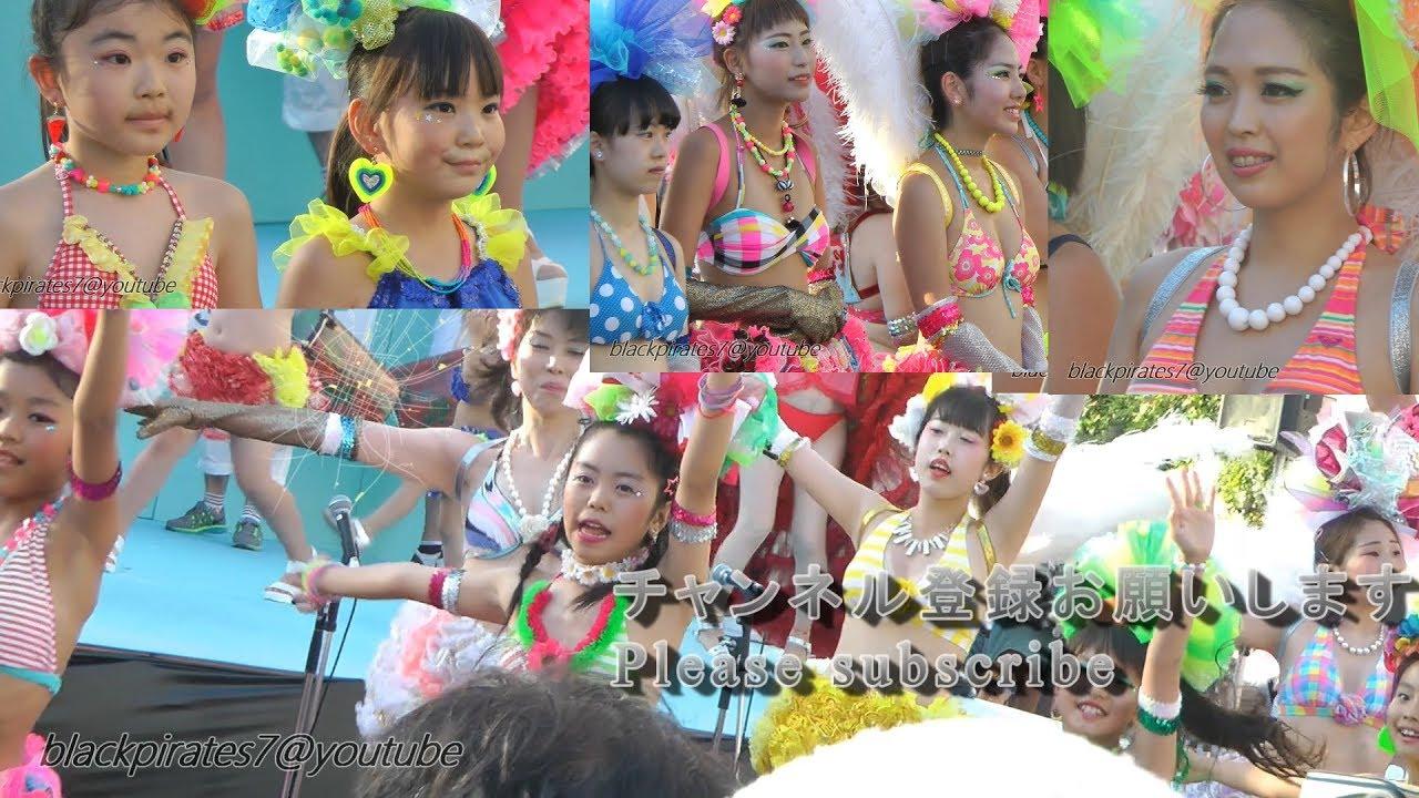 美女だらけの神戸サンバチーム☆神戸まつり 長田鉄人ステージ SAMBA CARNIVAL (サンバカーニバル)