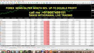 FOREX  NEWS EA PER MONTH 50% UP-TO DOUBLE PROFIT CALL :+919087499151