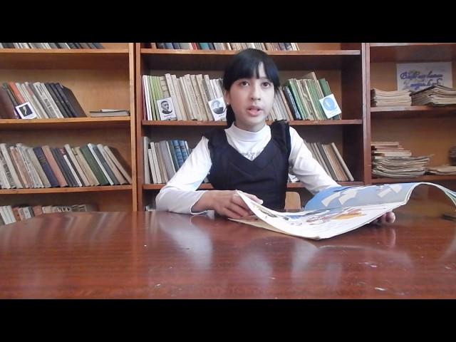 Изображение предпросмотра прочтения – АльбинаКалинина читает произведение «Что такое хорошо и что такое плохо» В.В.Маяковского