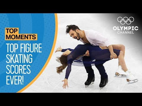 Highest Ever Olympic Figure Skating Scores! | Top Moments