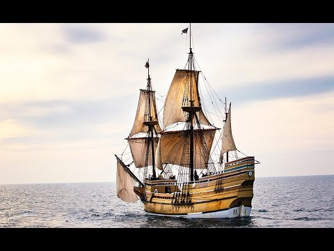 Tour of Mayflower Ship (1620) | First Ship of the Pilgrims & the Puritan