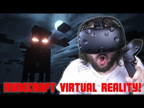 MINECRAFT VIRTUAL REALITY!