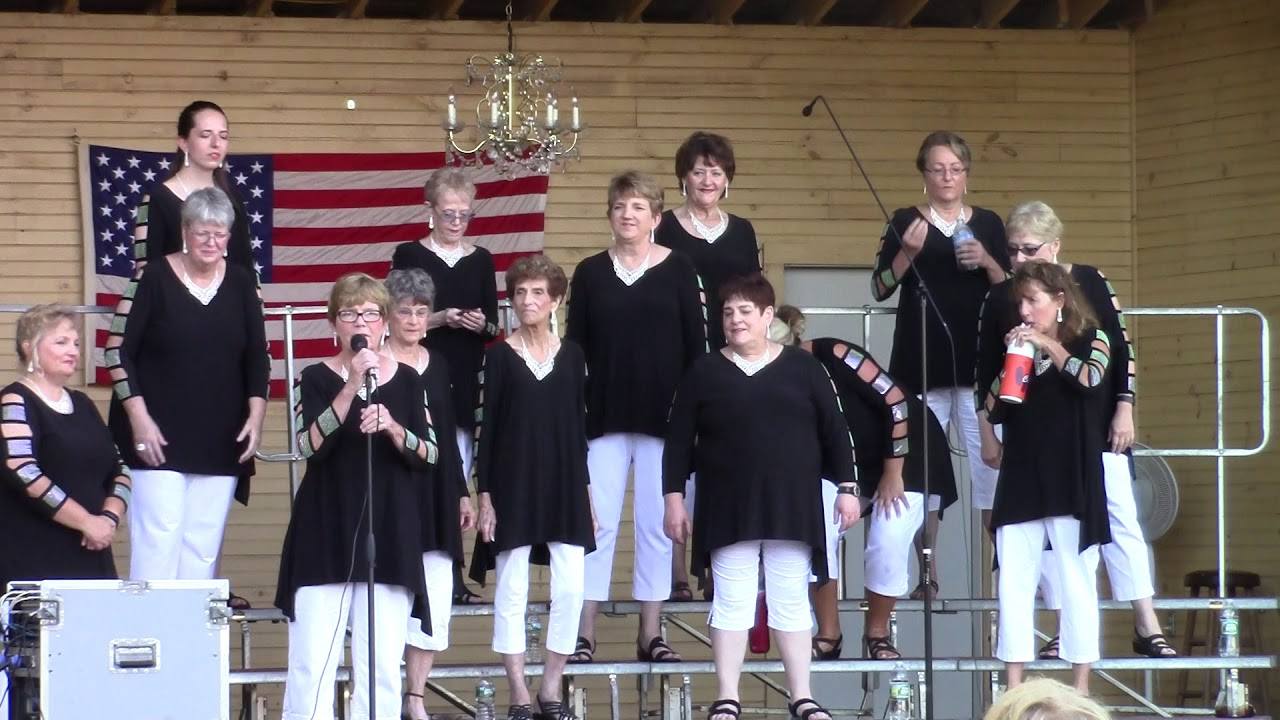 C.V. Sweet Adelines in Rouses Point  7-26-18