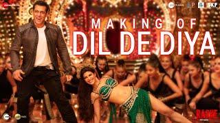 Dil De Diya - Making   Radhe  Salman Khan, Jacqueline Fernandez  Himesh Reshammiya Kamaal K,Payal D