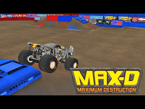 Rigs Of Rods Monster Jam Max D Backflip Attempt Atlan