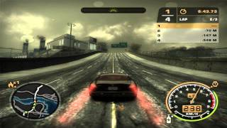 Need For Speed: Most Wanted (2005) - Race #121 - Hastings (Circuit)