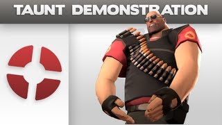 Taunt Demonstration: Crotch Chop Heavy
