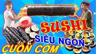 BUI VLOGS | Thử làm cuộn Sushi khổng lồ sẽ NTN và cái kết ngon không tưởng
