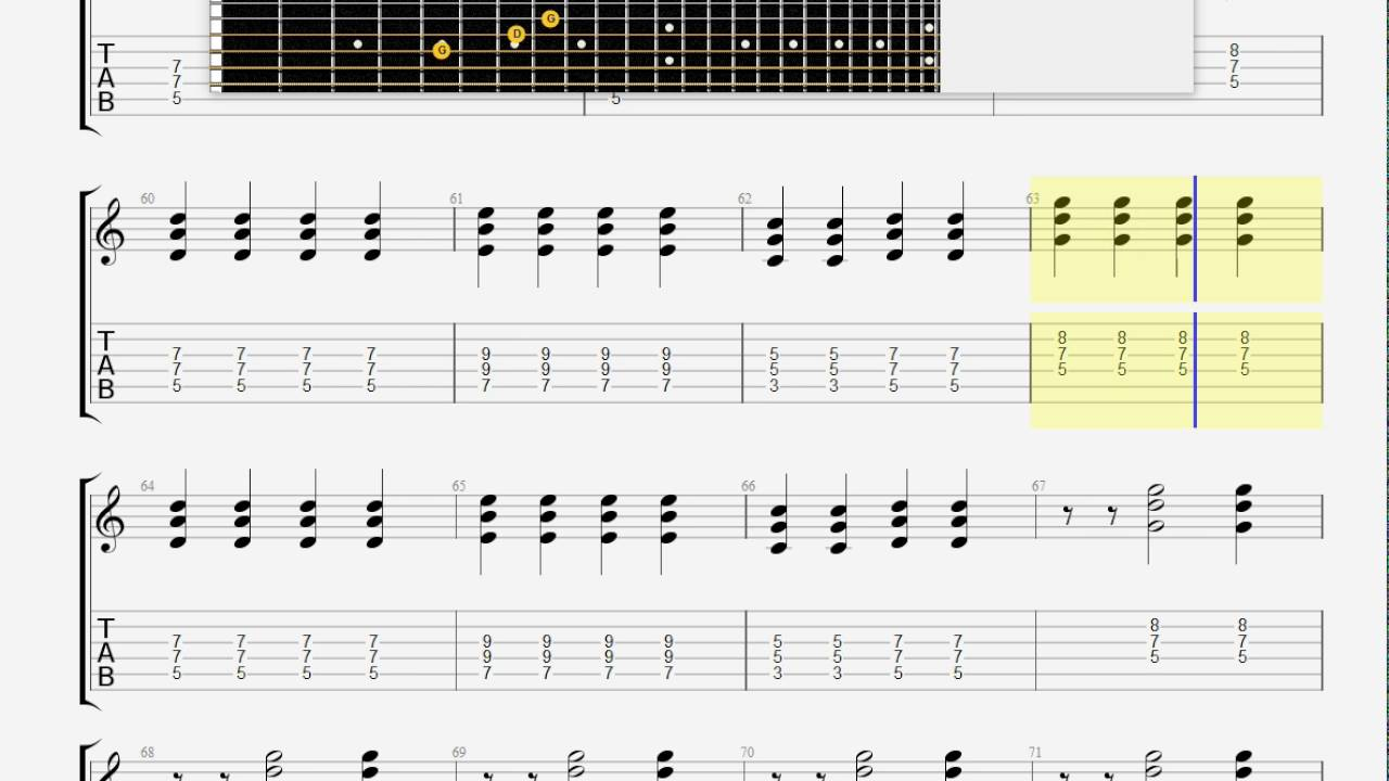 Blink 182 I Wont Be Home For christmas GUITAR TABLATURE - YouTube