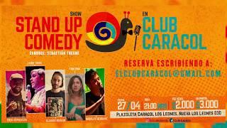 Noche de Stand Up Comedy en Club Caracol