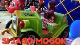 Naik odong odong mobil antik Lagu anak anak terpopuler Si Jago Mogok