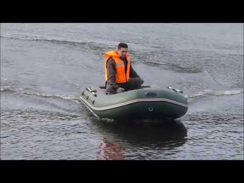 """Лодка """"Дека"""" К-330 с надувным дном низкого давления"""