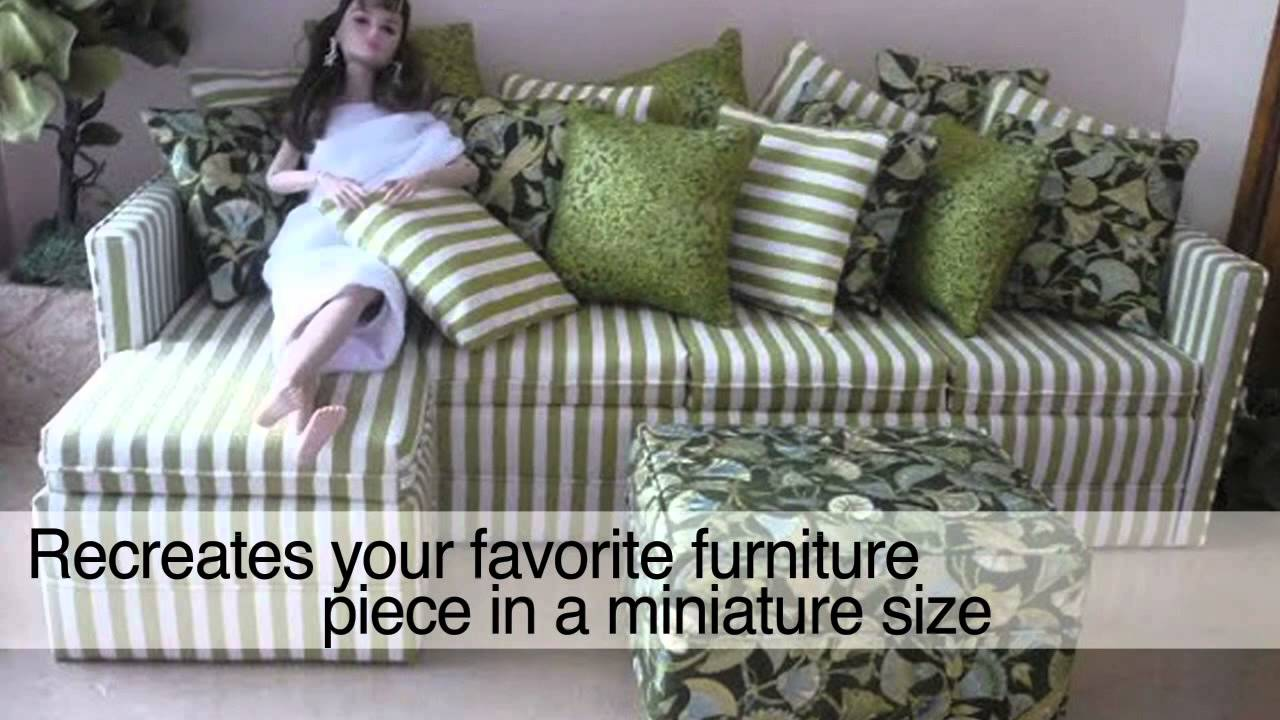 Chaise Design Miniature 1 6 Scale Custom Miniature Designs