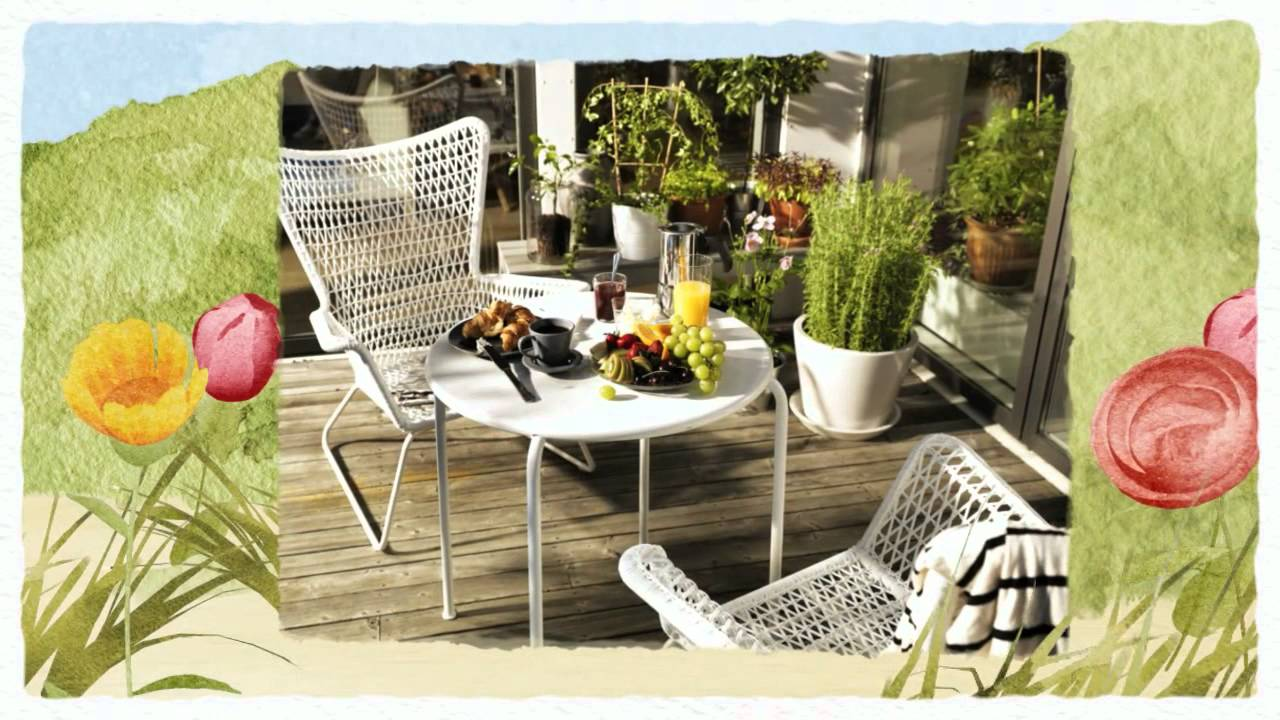 Muebles de jard n ikea primavera 2012 youtube for Decoracion jardin piscina