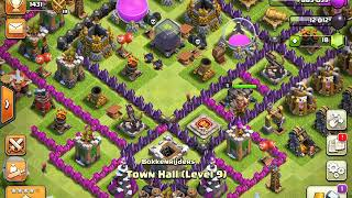 Clash Of Clans glitch (invisible buildings)