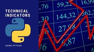 Stock Technical Indicators Using Python