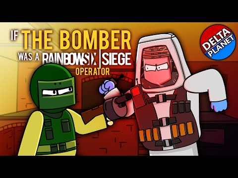 (Animation) If The Bomber Was A Rainbow Six Siege Operator |