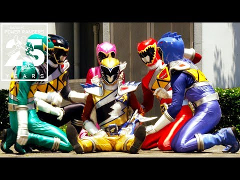Power Rangers | Dino Charge Ranger Defeats!