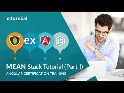 MEAN Stack Application Tutorial For Beginners - Part 1 | MEAN App From Scratch | Edureka