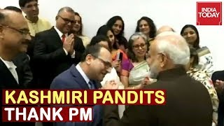 Howdy,Modi!: Kashmiri Pandits Thanked PM For Abrogation Of Article 370