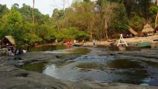 Water hole in Pakse, Laos.