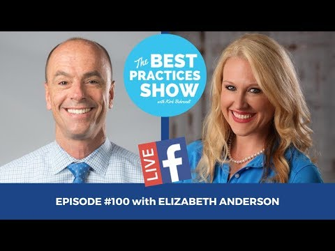 Episode #100 - Simplifying the HIPAA Hype with Elizabeth Anderson, Certified HIPAA Professional