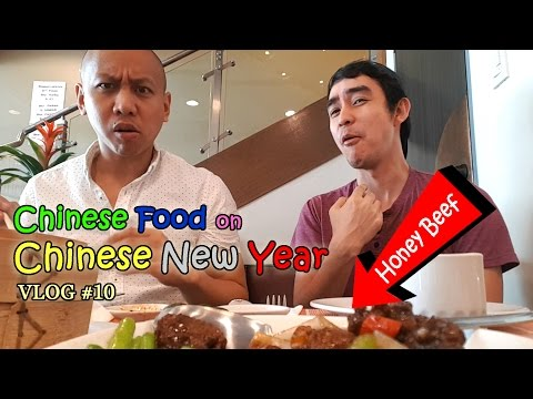 Chinese Food on Chinese New Year | Vlog #10