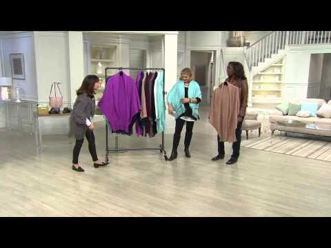 Layers by Lizden Marvelush Shrug with Cable Detail with Sandra Bennett