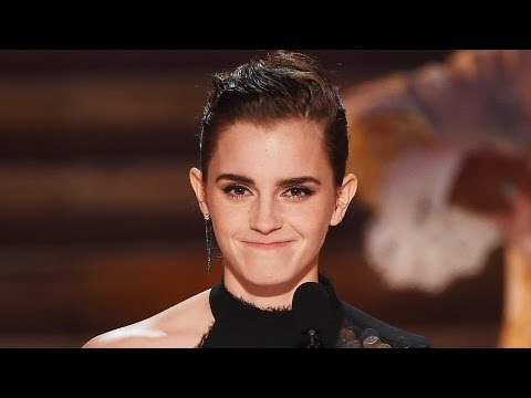 Emma Watson Makes History Receives First-Ever Gender-Neutral Acting Honor at MTV Movie & TV Awards