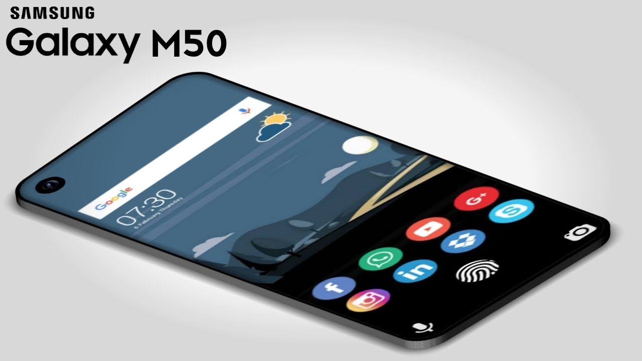 Samsung Galaxy M50 – 6,000mAh Battery, 7.0 Inch Display, 5G, Final Specs, Price & Launched Date !