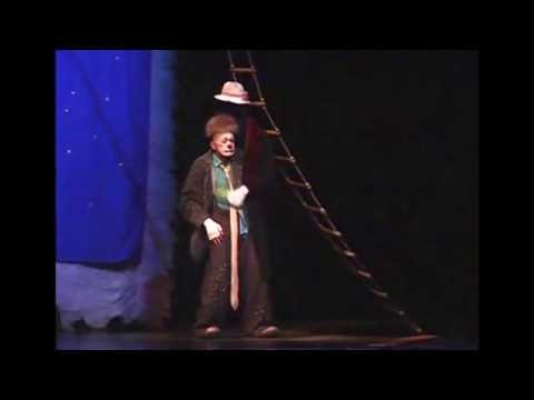 "Coat act from ""Snowstorm"". Cirque du Soleil ""Alegria"" 2010-2013"