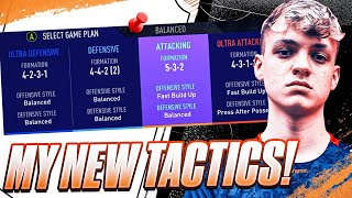 *SCORE EASY GOALS* NEW! CUSTOM TACTICS FOR PLAY OFFS AND E NATIONS! #FIFA21 ULTIMATE TEAM