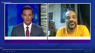 Graphic Novel Author Tackles White Supremacy | 9News NBC 2020 | R. Alan Brooks